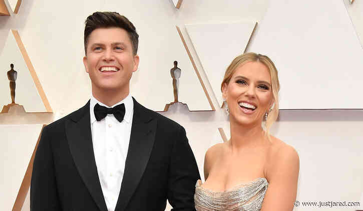 Double Nominee Scarlett Johansson Attends Oscars 2020 with Fiance Colin Jost!