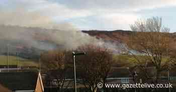 Fire on Eston Hills being spread by strong winds - Gazette Live