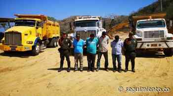Caen cuatro personas por minería ilegal en Puerto Colombia, Atlántico - Seguimiento.co