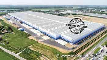 Tournan-en-Brie : l'entrepôt d'Idec obtient la certification Breeam niveau excellent - Le Moniteur de Seine-et-Marne
