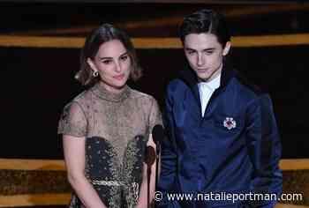 Natalie and Timothée at the Oscars