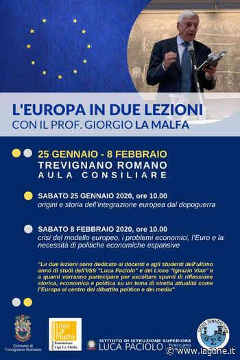 Trevignano Romano, Lezioni sull'Europa l'8 febbraio 2020 - L'agone