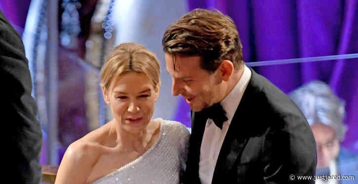 Bradley Cooper & Ex-Girlfriend Renee Zellweger Reunite at Oscars 2020
