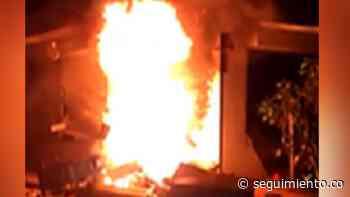 Comunidad habría quemado sede de Electricaribe en Chimichagua, Cesar - Seguimiento.co