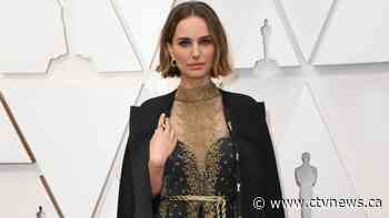 Natalie Portman's Oscars dress embroidered with names of snubbed female directors