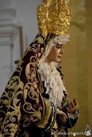 Galería. Besamanos a María Stma. del Refugio (San Bernardo). Juan Alberto García Acevedo - Arte Sacro