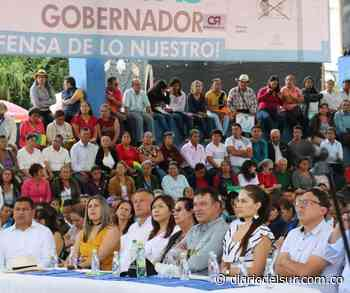 Emotivo homenaje rindió Buesaco a gobernador electo de Nariño - Diario del Sur