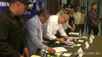 Firman convenio para construir un complejo penitenciario en Arani - Opinión Bolivia