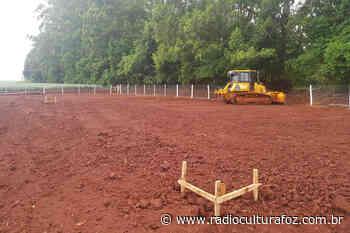 Começa construção de trincheira em Santa Terezinha de Itaipu - Rádio Cultura Foz