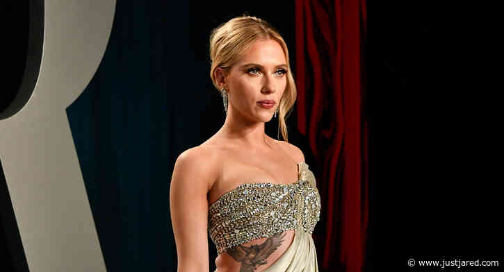Scarlett Johansson Shows Off Tattoos in Oscars Party 2020 Dress