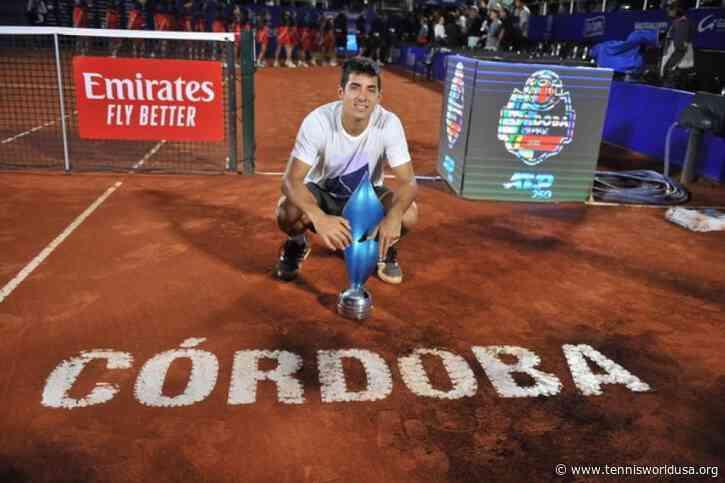 ATP Cordoba: Cristian Garin bagels Diego Schwartzman for third ATP crown