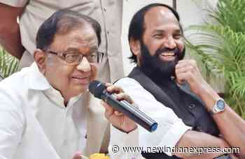 Cut in Central funds will dent Telangana's budget: Chidambaram - The New Indian Express