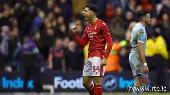 Nottingham Forest add further dent to Leeds promotion hopes - RTE.ie