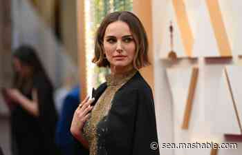 Natalie Portman's Oscars outfit recognised snubbed female directors - Mashable SE Asia