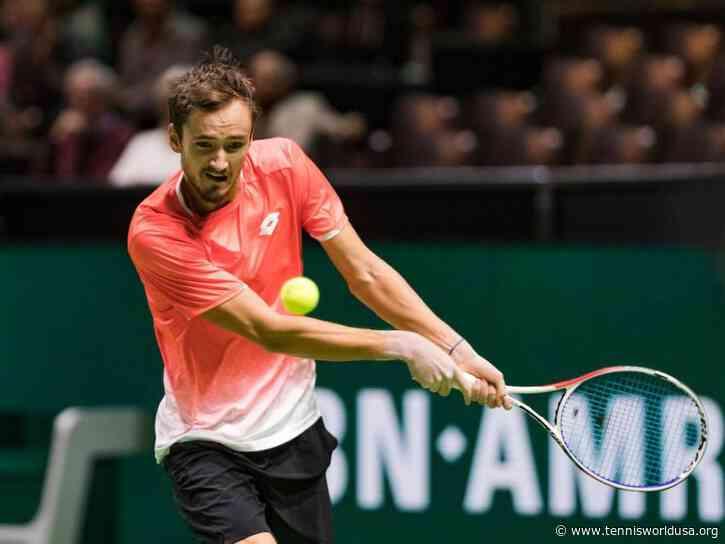 Daniil Medvedev speaks highly of Rotterdam, tournament's player field