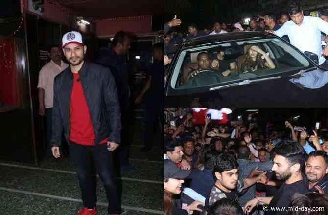 Inside Pictures: Fans unleash their madness as the Malang cast catches the film's reaction at a theatre