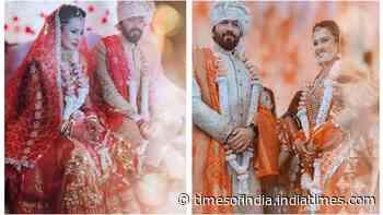 It's official! Kamya Panjabi ties the knot with Shalabh Dang