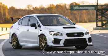 Subaru STI S209: It's all about the grip — and grin - The San Diego Union-Tribune