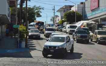Crecieron los ingresos por control vehicular: Isidro Jordán Moyrón - El Sudcaliforniano