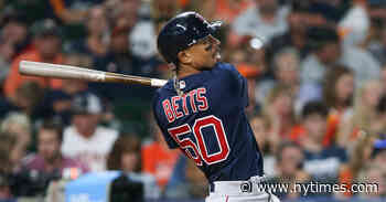 In Trade for Betts, Another of Astros' Vanquished Opponents Bulks Up