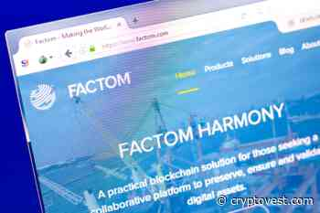 Factom (FCT) Extends Winning Streak Even During Week of Capitulation Selling - Cryptovest