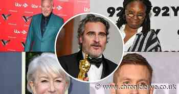 20 celebrities' real names that will leave you in shock - including Joaquin Phoenix and Helen Mirren