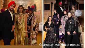 Karan Johar parties with Gauri Khan, Shweta Bachchan Nanda, Neha Dhupia and more in Jaisalmer