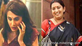 B-Town celebs, Smriti Irani hails the trailer of Taapsee Pannu's 'Thappad'