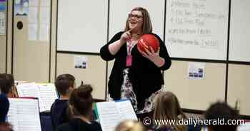 'Band nerd for life': How Batavia teacher's lessons use 'Old Town Road,' basketball