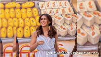 Sara Ali Khan is a true foodie and her latest post on Delhi's 'chhole bhature' is proof!