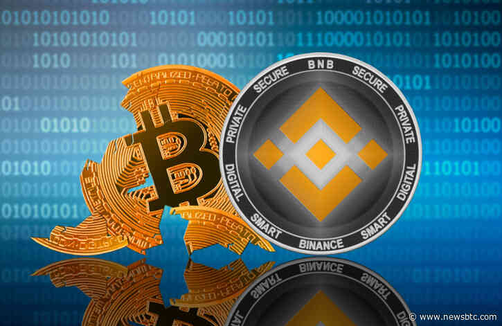 Binance Coin Rises on the Day Bitcoin Fails to Sustain above $10K