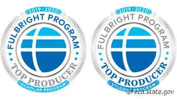 U.S. Department of State Announces 2019-2020 Fulbright Top Producing Institutions