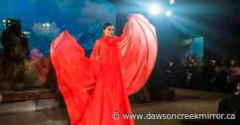 Brandon Maxwell's models strut amid bison, moose and caribou - Dawson Creek Mirror