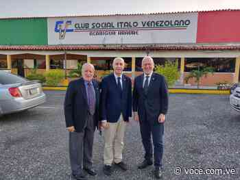 Comunidad de Club Ítalo de Acarigua recibió al Embajador y al Cónsul - la voce d'italia