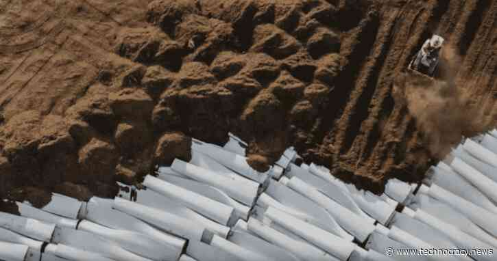 Unsustainable: Wind Turbine Blades Are Piling Up In Landfills