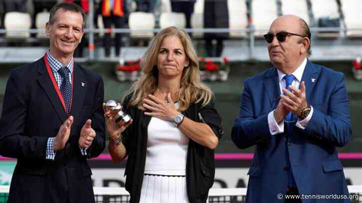 Sanchez Vicario: When I was little I didn't think about having a career like I had