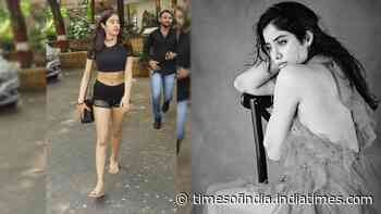 Janhvi Kapoor wants people to talk about her films and not gym shorts
