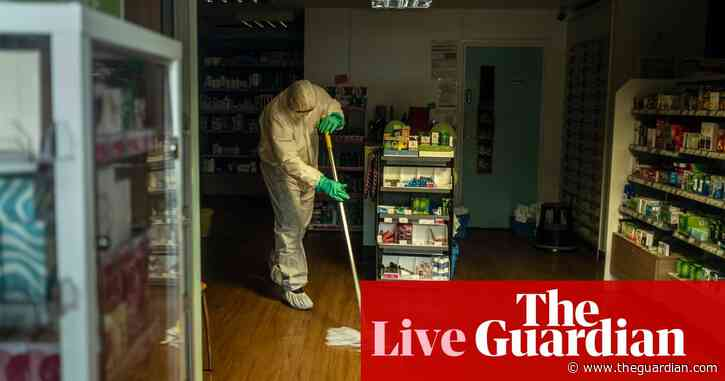 Coronavirus: new UK cases are 'closely linked', official says – live news