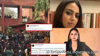 Swara Bhasker and Huma Qureshi extend their support to Gargi College students after they allege mass molestation