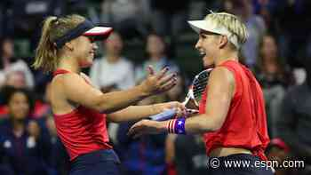 Sofia Kenin comes up big again to lead U.S. to Fed Cup finals