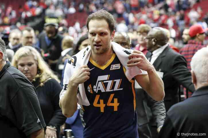 Bojan Bogdanović buries game-winner No. 2 for the Utah Jazz
