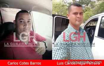 Fallecen dos personas en atraco en la vía Maicao – Riohacha - La Guajira Hoy.com