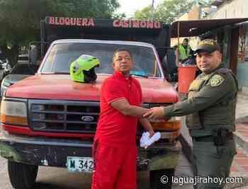 Policía recupera vehículo, momentos después de haber sido hurtado en Maicao - La Guajira Hoy.com