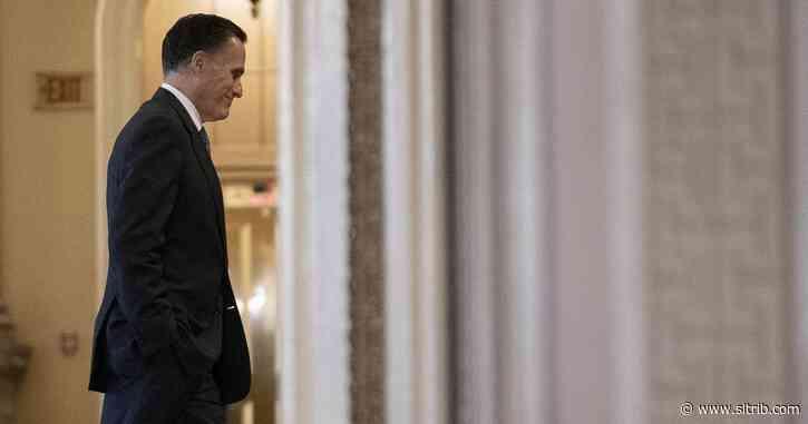 Some Utah GOP leaders move to censure Mitt Romney, demand his allegiance to Trump