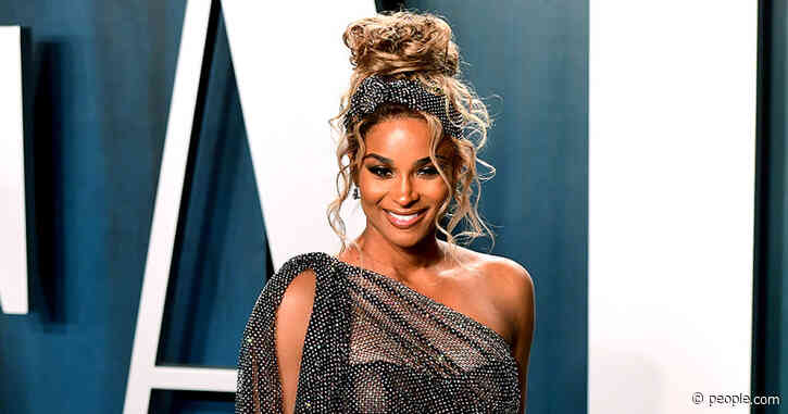 Pregnant Ciara Shows Off Her Baby Bump at Vanity Fair Afterparty Following 2020 Oscars