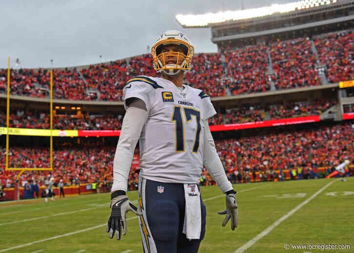 Chargers, Philip Rivers agree to split as QB heads into free agency