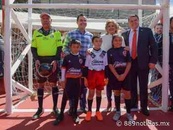 Fue inaugurado un parque recreativo en Atizapan de Zaragoza como parte de las acciones para prevenir la delincuencia. - 88.9 Noticias