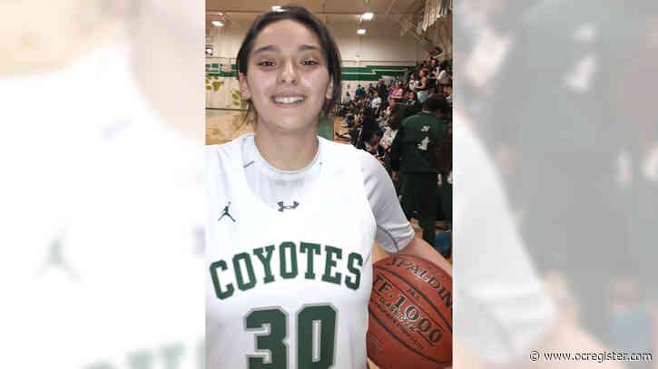 Orange County girls athlete of the week: Isabelle Avalos, Buena Park