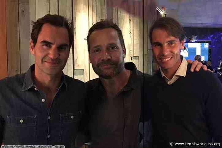 Roger Federer and Rafael Nadal partied all night long after Cape Town exhibition