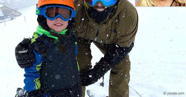 'Ski Bums!' Carrie Underwood's Husband Mike Fisher and Son Isaiah Hit the Slopes in Sweet Snap